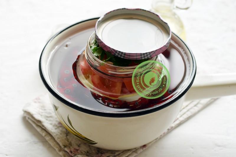 Маринованный овощной салат ассорти рецепт приготовления