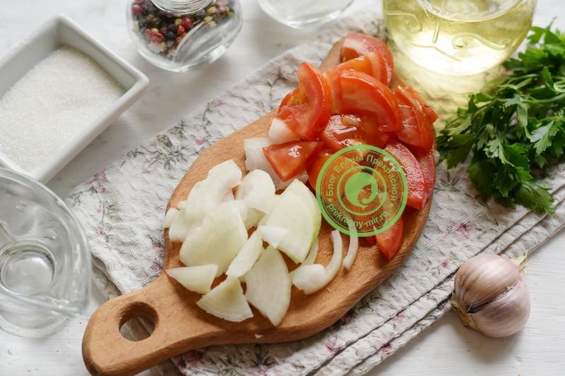 Маринованный овощной салат ассорти рецепт