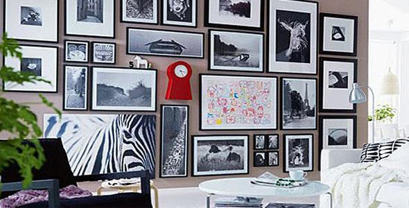Миниатюра к статье Еще раз о фен шуй, или ищем место для фотографий в вашем в доме