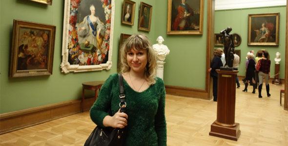 Миниатюра к статье Моя прогулка в Третьяковскую галерею в Москве